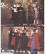 Adult Robin Hood Maid Marion Dracula Vampire Halloween Costume Sew Patte... - $11.99