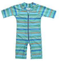 belamo one Piece Swimwear for Baby boy Short Sleeve Sun Shirt 18-24 Mont... - $19.54