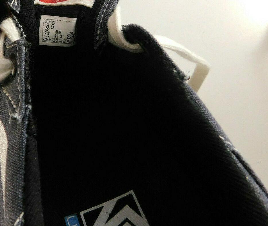 Vans Gilbert Crockett PRO Denim Suede Size 8.5 Men's Skateboard Shoe image 9