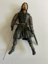 """Marvel 6 1/2"""" 2003 LOTR Lord Of The Rings, ARAGORN Poseable Action Figure - $6.44"""