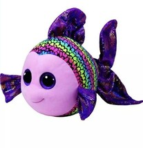 Ty Beanie Boo's FLIPPY the Fish Large 20 Inch New with Tags - $35.63