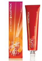 Matrix Color SYNC Demi-Permanent Hair Color 2oz (6RV) - $5.93