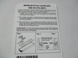 Micro-Trains Stock # 00204010 #907 Marklin Style Couplers Body Mount (Z Scale) image 3