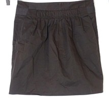Banana Republic Pencil Skirt with Pockets Women Size 4 Brown Cotton Stretch - $17.79