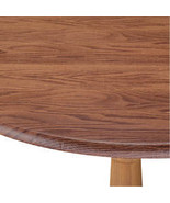 Wood Grain Fitted Table Cover-42-68-Oval-Oblong-Oak - $28.73
