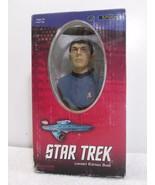 "Star Trek Spock Limited Edition Polystone 6.8"" Bust 292/5000 - Sideshow ... - $24.18"