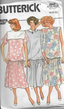 Butterick Pattern #3645-Misses Maternity Dress in Sizes 6-8-10 - $5.86