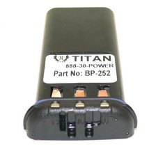 Replacement ICOM BP252 LI-ION BATTERY M34 M36 REPLACES BP241-18 Month Wa... - $41.03
