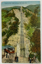 Old Divided Back Litho Postcard Great Incline Mt. Lowe, California Poste... - $14.65