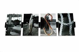 FISH Framed Photograph Word Letter Art 4 X 6 IN Framed Professional Photos - $39.99