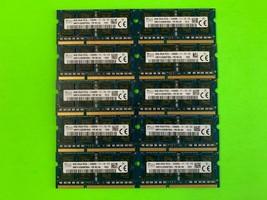 LOT OF 10 X HYNIX 8GB DDR3 Laptop Ram Memory 2Rx8 PC3L-12800S - HMT41GS6BFR8A-PB