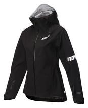 Inov8 AT/C Protec Shell Full Zip Women's Jacket Black Running Waterproof... - $300.11