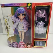 Rainbow High Violet Willow Purple Fashion Doll with 2 Outfits - NEW Box Not Mint - $32.95