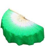Blancho Bedding Folding Long Fan/Dancing Fan/Yangge Dance Fan/Colorful P... - $23.24