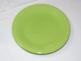 """Fiesta Homer Laughlin China Co Made in USA bread plate 7 1/4"""" Lime Green *^ - $16.08"""