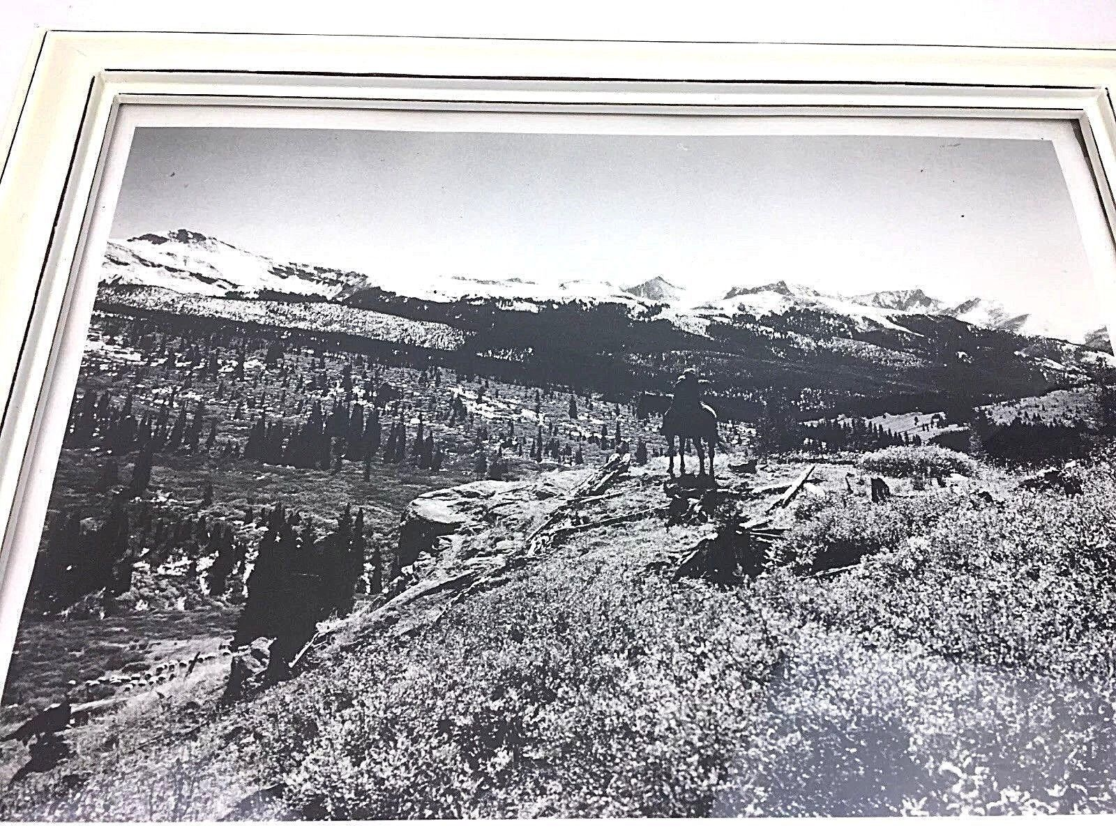 Rocky Mountain Cowboy Photographic Print by Richard Dick Purdie of Denver, CO