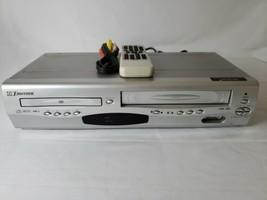 Emerson Dvd & Vcr Combo Player 4-HEAD HI-FI Vhs Recorder w/ Remote EWD2203 Cable - $56.10