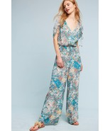 NWT ANTHROPOLOGIE ZULA LACE JUMPSUIT ROMPER by ELEVENSES S - $99.74
