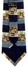 Teddy Bears Men's Neck Tie Novelty Wildlife Toy Bear Animal Dress Blue Necktie image 3