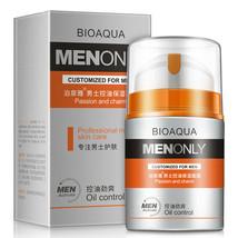 BIOAQUA Men's Moisturizing Face Cream Сlean Cool Skin Controls Sebum Nou... - $7.55