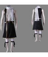 Fairy Tail Natsu Dragneel anime Halloween cosplay costume mens suit - $49.56