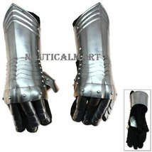 Medieval Armor Knight Steel Gauntlets By NauticalMart - $159.10