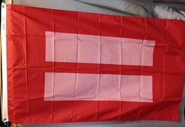 "Equality Gay Marriage 3x5' Flag 36x60"" NEW Gay Pride  - $19.75"
