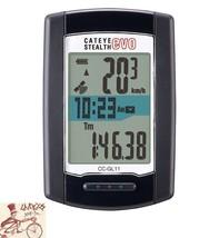 CATEYE  CC-GL11 STEALTH EVO GPS BLACK WIRELESS 10 FUNCTIONS COMPUTER--16... - $128.70