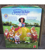 Snow White Seven Dwarfs Doc Doll 1992 - $12.99