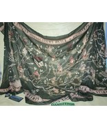 Bioworld Loot Crate Harry Potter Black Family Tree Tapestry Scarf Wrap 6... - $148.49