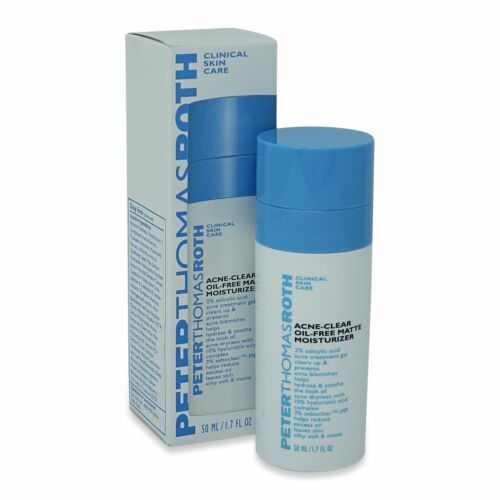 Peter Thomas Roth Acne Clear Oil-Free Matte Moisturizer 1.7 oz P1 New in Box - $39.86
