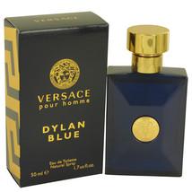 Versace Pour Homme Dylan Blue Cologne 1.7 Oz Eau De Toilette Spray  image 4