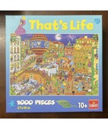 """Goliath That's Life 1000 Of Jigsaw Puzzle #10527 """"Mardi Gras"""" Complete &... - $19.31"""