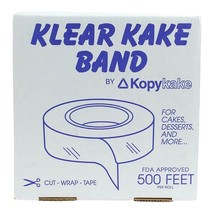 Cake band, Clear 2.5 inch - 2 boxes - 41.6 foot Roll ea - $72.83
