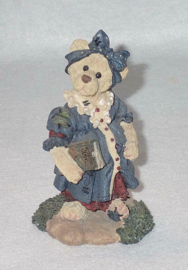 Boyd Bearstone Resin Bears Momma McBear Anticipation Figurine #2282 31E