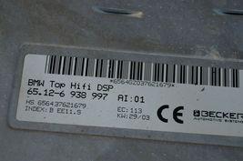 BMW Top Hifi DSP Logic 7 Amplifier Amp 65.12-6 938 997 Herman Becker image 5