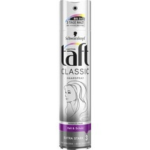Schwarzkopf Taft CLASSIC Hair Spray -250ml- Level 3 -FREE SHIPPING - $14.84