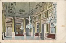 Malta Throne room governor palace Vincenzo Galea Antonio chandelier - $14.00