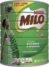 NESTLE MILO Chocolate Malt Beverage Mix Fortified Powder Energy Drink 3.3l Fresh - $26.09
