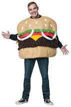 Fur Burger Cheeseburger Adult Costume Food Halloween Party Unique Cheap ... - €46,76 EUR