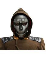 Xcoser Dr Doom Mask Fantastic Four Movie Cosplay Props Gray PVC Adult Mask - $64.00