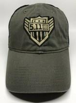 5.11 Tactical Cap Hat Adult Adjustable 2017 Black Green  100% Cotton - $13.12