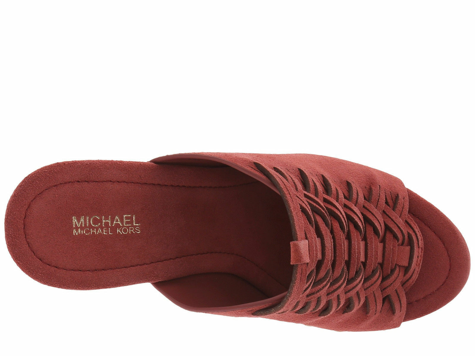 New Michael Kors Women Westley Studs Platform Mules Variety Color&Sizes image 8