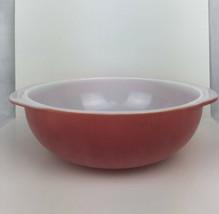 """Vintage Pink Pyrex Ovenware Bowl 2 quart #024 USA 8 1/2"""" Wide - $34.65"""