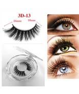 1 Pair 3D Lashes Natural Eye Lash Extension Supplies Fake Eyelashes Mink... - $16.70
