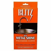 Blitz All Metal Shine Polishing & Cleaning Cloth for Brass, Copper, SS - $8.90