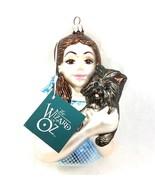 1998 Kurt Adler Wizard of Oz Polonaise Dorothy Toto Mercury Glass Bust O... - $49.36