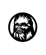 CHEWBACCA STAR WARS Vinyl Decal Car Sticker Wall Truck CHOOSE SIZE COLOR - $2.60+