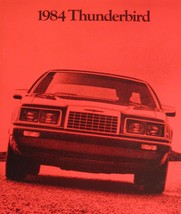 1984 Ford Thunerbird T-bird Original Brochure 84 - $8.31