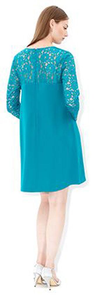 MONSOON Reyla Tunic Teal Dress Size UK 16 BNWT